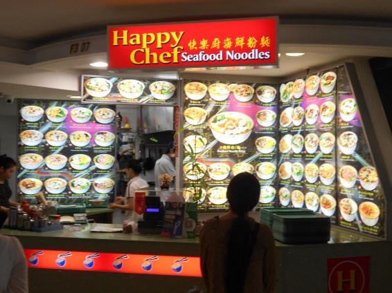 The menu of great noodle soups
