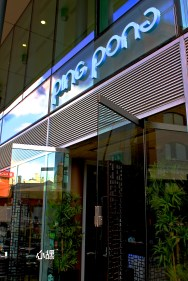 Ping Pong Restaurant, London . YUMMY