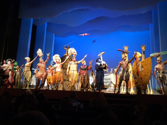 Lion King 6th Row