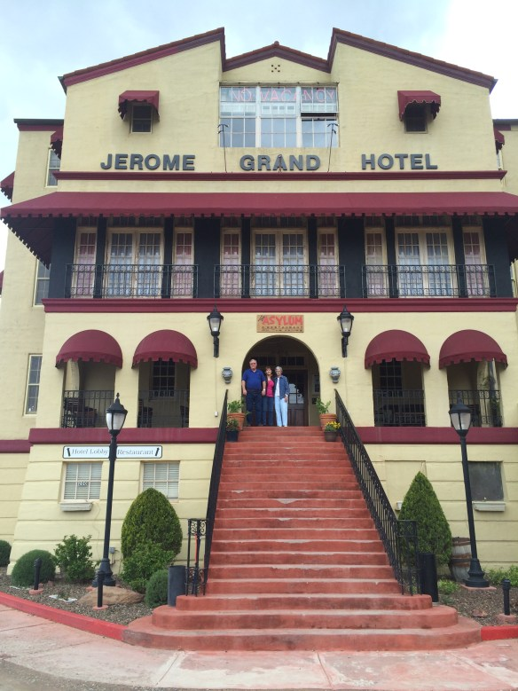 My Parents and Grandmother at the Jerome Grand Hotel