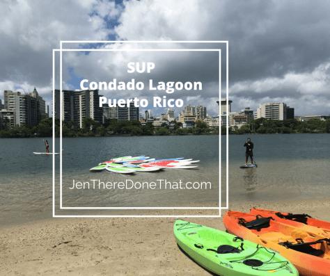SUP Condado Lagoon Puerto Rico