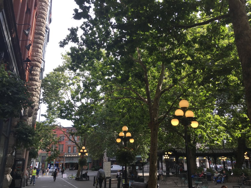 Park at Pioneer Square
