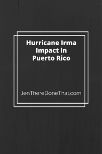 Hurricane Irma Impact in Puerto Rico