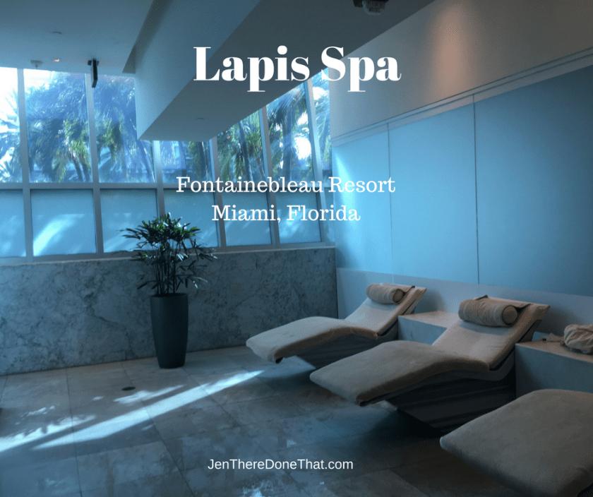 Lapis Spa Fontainebleau resort