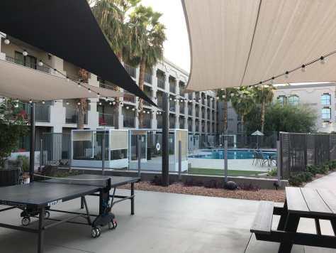 The Moxy Pool in Tempe Arizona