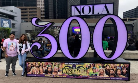 WrestleMania for New Orleans 300th Birthday
