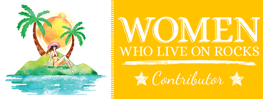 Women Who Live on Rocks Contributor  - WWLOR Contributor Badge