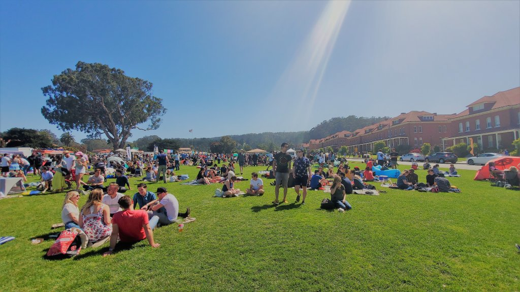 Sunday Picnic at Main Post Lawn in Presidio