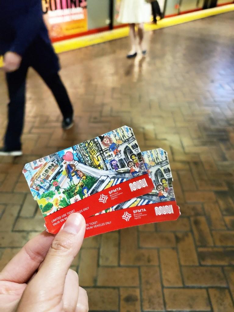 Muni tickets