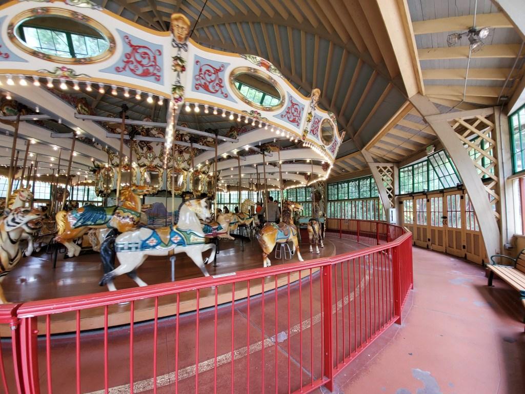 Carousel at San Francisco Zoo