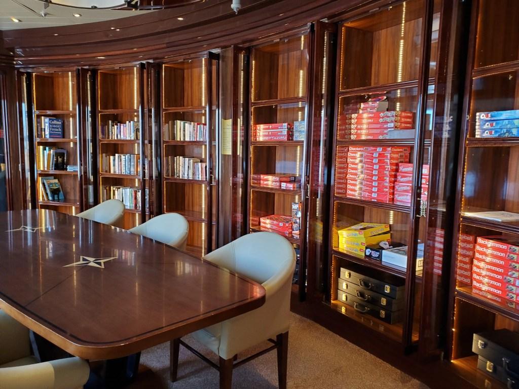 Library on Royal Princess