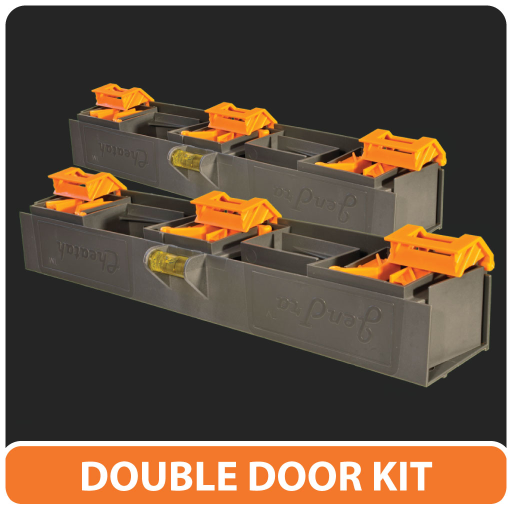 The CHEATAH double door kit.