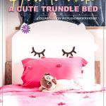 How To Make A Diy Kitty Twin Trundle Bed For Kids Sharing A Small Room