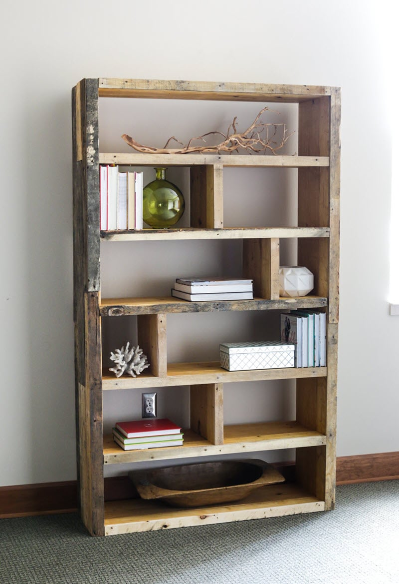20 Amazing Diy Bookshelf Plans And Ideas The House Of Wood
