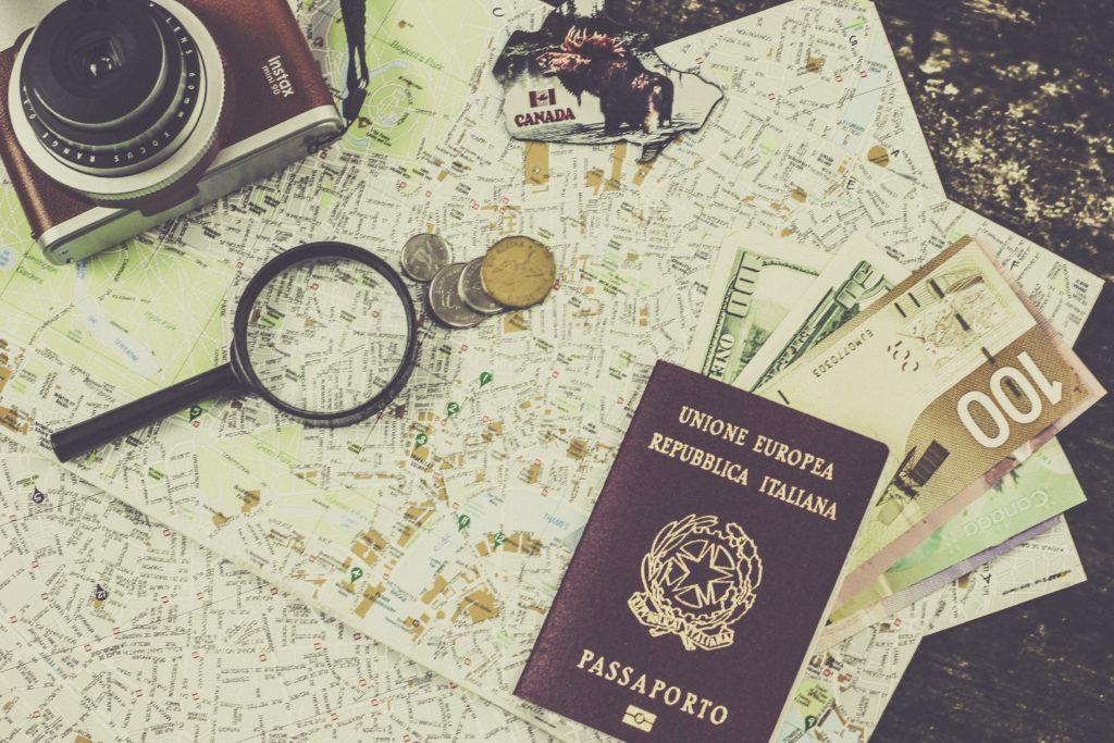 plan trip passport