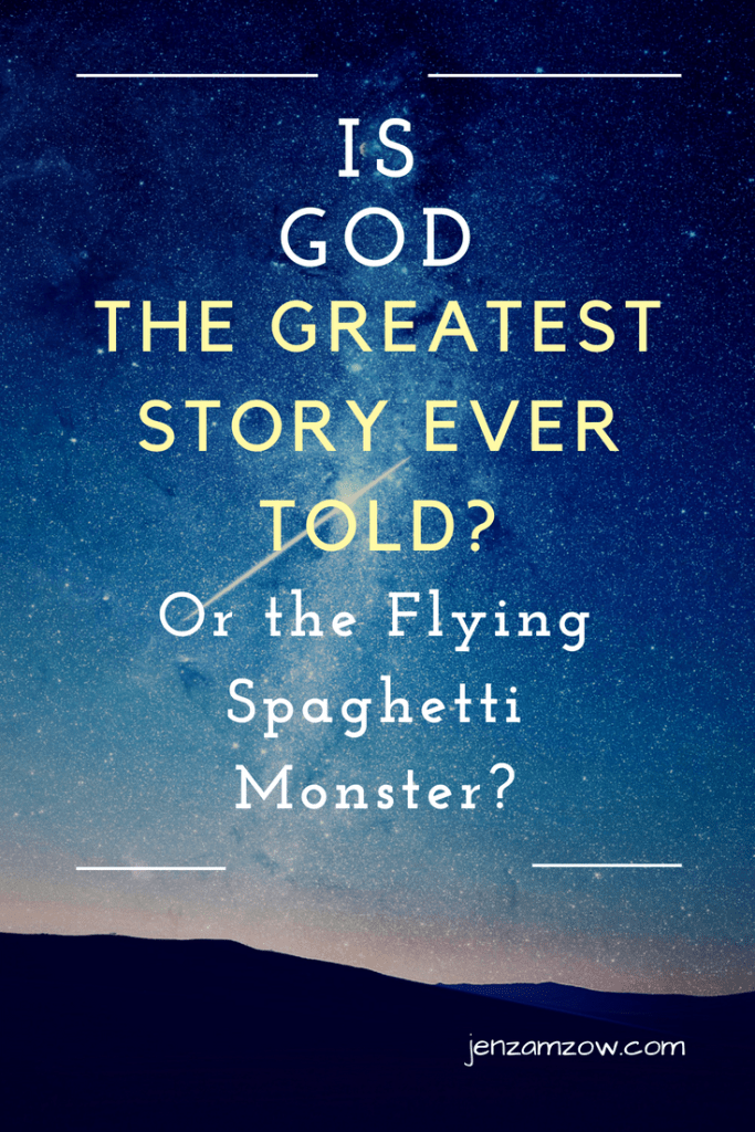 Faith and doubt and the importance of getting the God question right