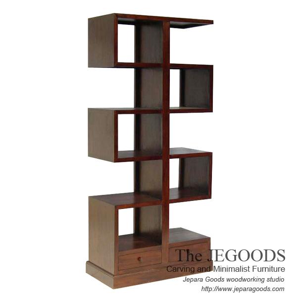 Zig-zag Bookcase