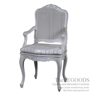Louis French Arm Chair  sc 1 st  the Jepara Goods & Louis French Chair Antique Mahogany Carving Jepara Indonesia Crafter