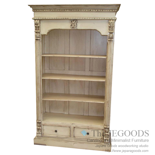 Louis Carving Shelf Cabinet