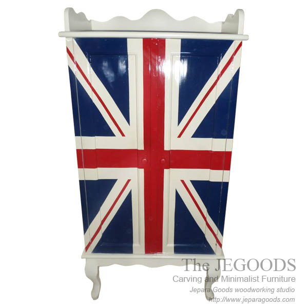 Union Jack Cupboard