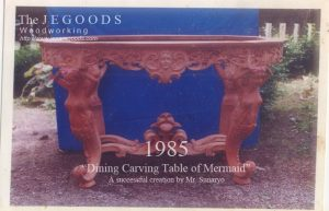 dining carving table,mermaid dining carving table,carving table of mermaid,mahogany crafter jepara indonesia,classic carving dining table of mermaid,pengrajin ukir jepara klasik,produsen mebel antik klasik jepara,pengrajin mebel furnitur classic eropa jepara