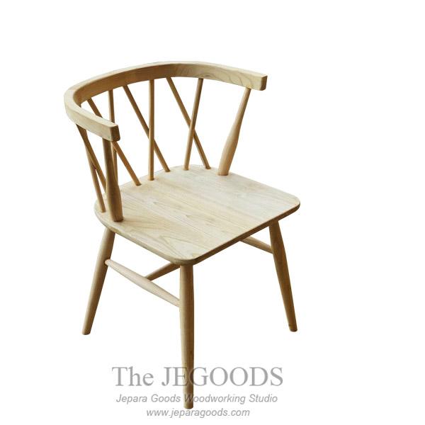 Danish Cross Line Chair