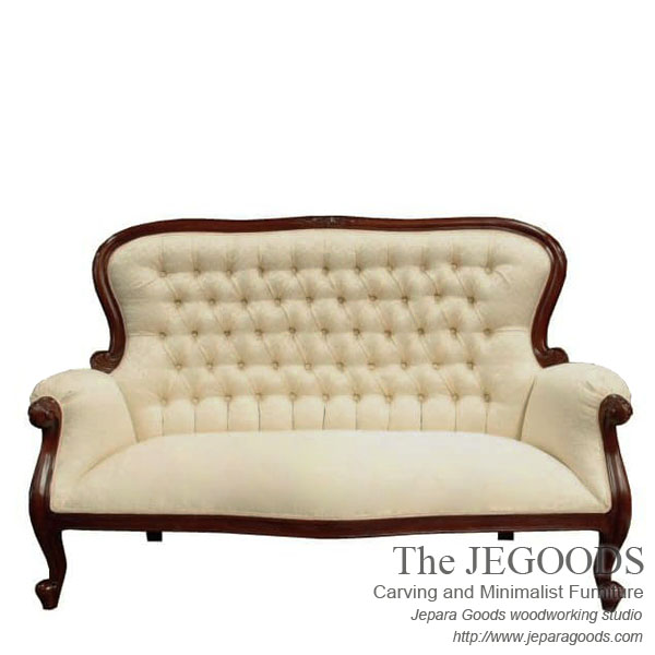 French Carving Furniture Indonesia,Shabby Bench Love 2 Seat,love Seat  Bench,jual