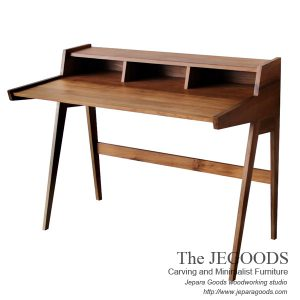 Jengki Writing Desk Retro Vintage Teak Jepara