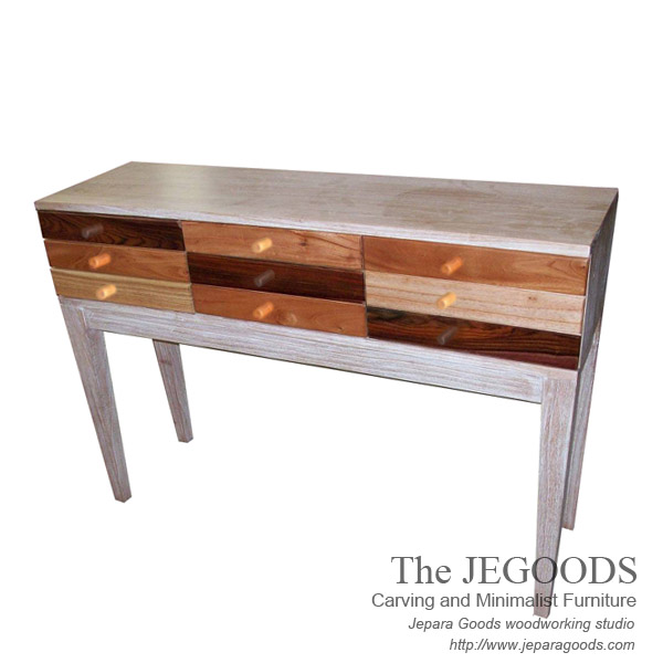 Rustic Pop Panjang Console Table