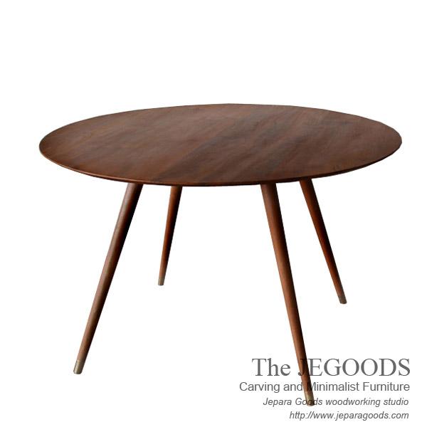 Skandin Jengki Round Dining Table
