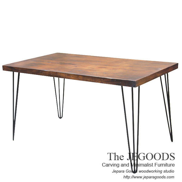 Hairpin Rustic Dining Table