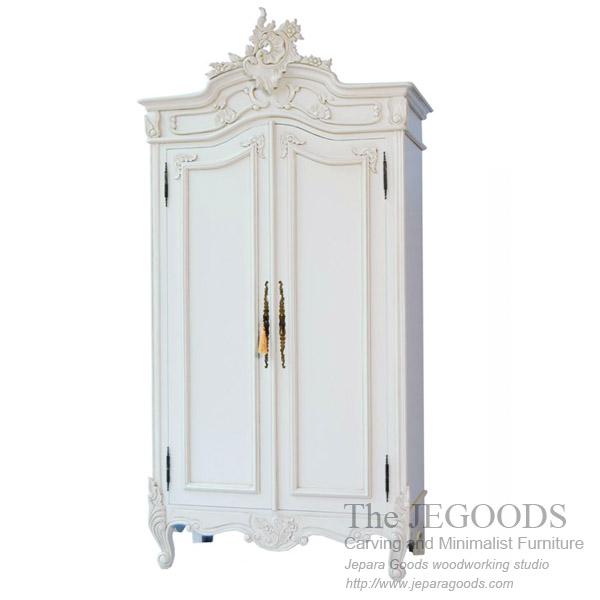 Wardrobe Carving French Rococo