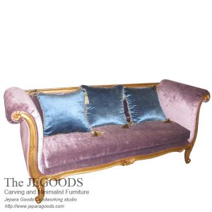 Louis Antique Love 3 Seat