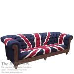 Union Jack Sofa Seat Chesterfield