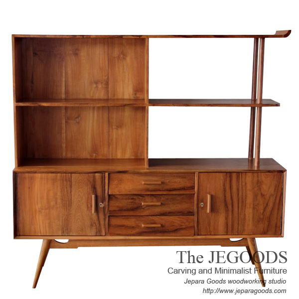 Discount Kitchen Cabinets Seattle: Wall Cabinet Cupboard Java Vintage Furniture By Jegoods