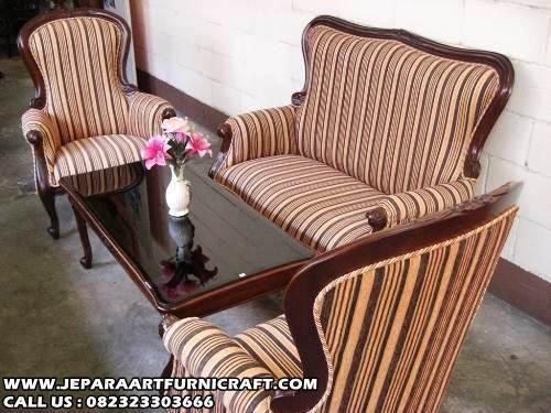 Jual Sofa Ruang Tamu Jati Grandfather Harga Murah