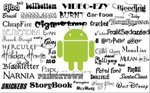 Cara Mengganti Gaya Font pada Smartphone Android