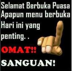 DP BBM Ramadhan Bahasa Sunda Lucu