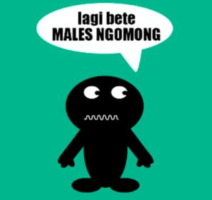 bete-males-ngomong