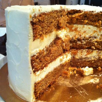 Carrot cake from one of my favorite American bakeshops: Sugarplum