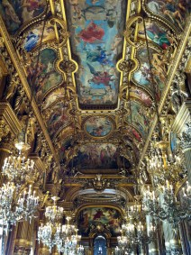 Ceiling of the Grand Foyer, painted by Paul Baudry