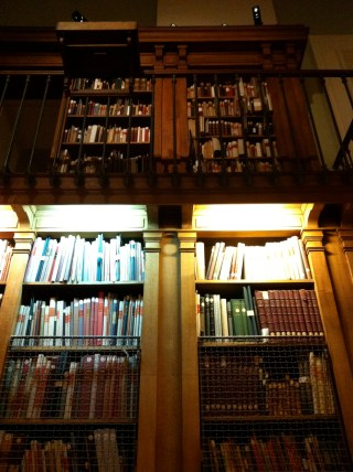 In the Library-Museum, which features a collection of operatic and theatrical works