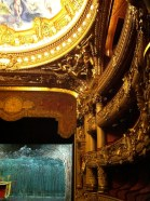 """A view of the """"baignoires"""" on the upper levels of the Auditorium"""