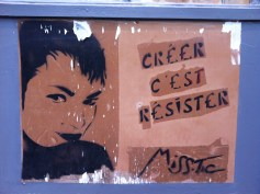"""Miss.Tic, """"To create is to resist."""""""