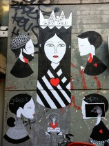 Fred le Chevalier, queen of hearts