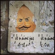 """I don't like street art."""