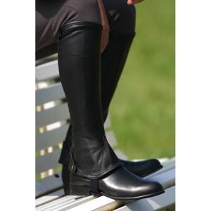 mini-chaps-eric-thomas-noir-cavalier-equitation-sport-wishlist