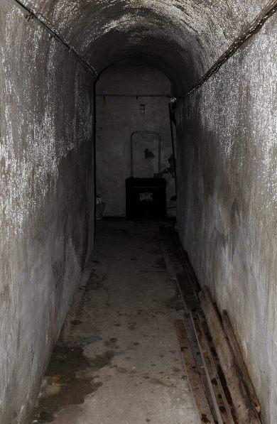Inngangen til anlegget