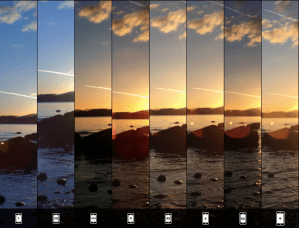 iPhone Camera Evolution