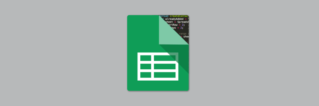 A picture of the Google Sheets logo